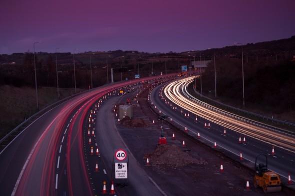 Egner-Photography-6-Light-Trails-Photography-M5-Motorway-Roadworks-Construction-Birmingham-IMG_1361-590×393