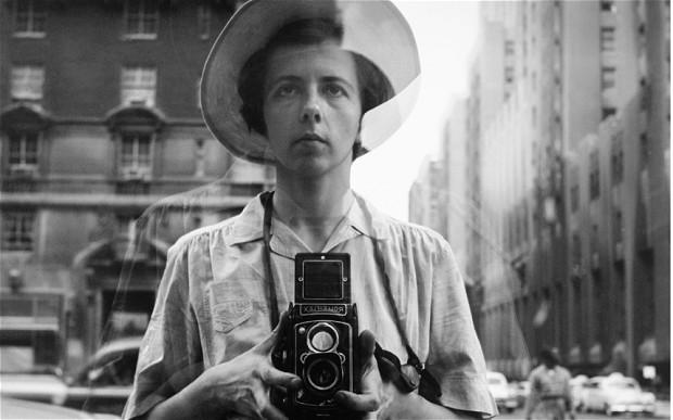 Autoretrato. Vivian Maier.