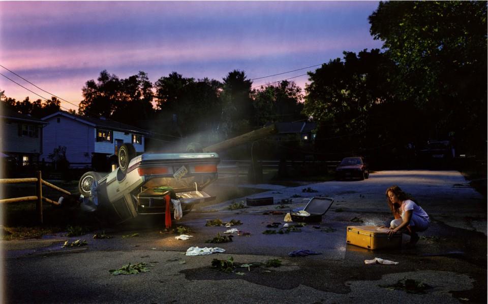 Fotografía de Crewdson, ejemplo para el análisis de imagen