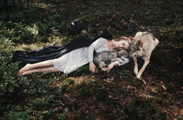 Olga Barantseva fotografía
