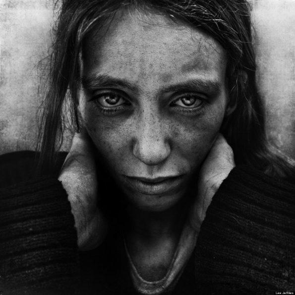 Lee-Jeffries-cultura-vagabundos-mujer