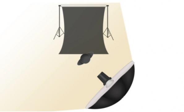 Tips de iluminación con sombrilla
