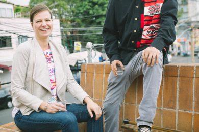 Sarah Borealis y Arturo Juarez