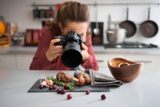 tips de fotografía para comida